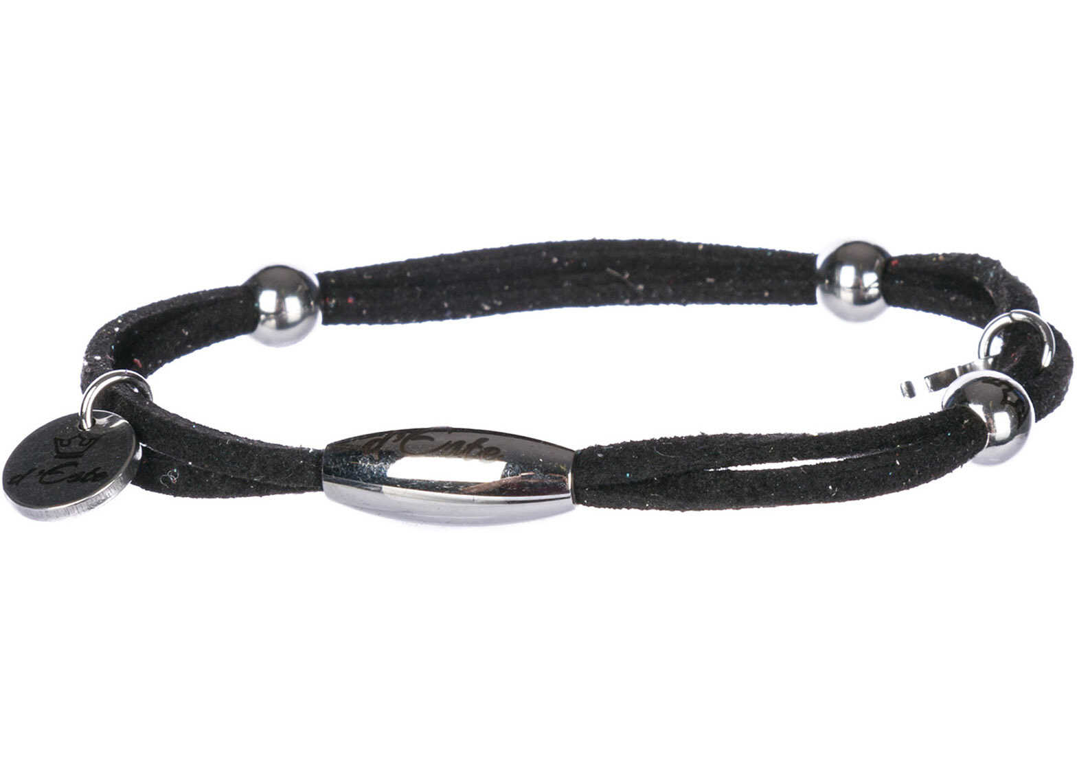 d'Este Bracelet Alcantara Black