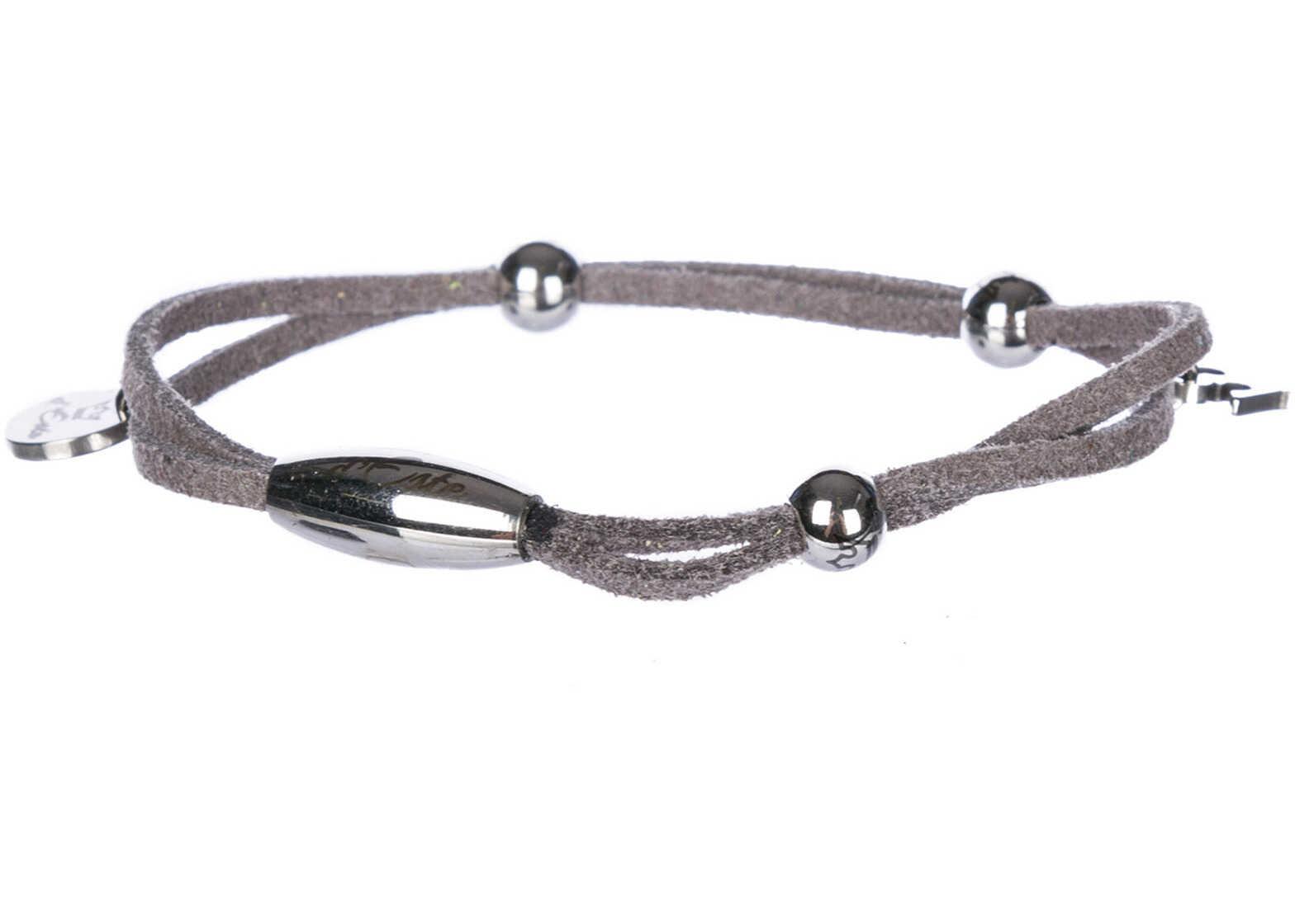d'Este Bracelet Alcantara Grey