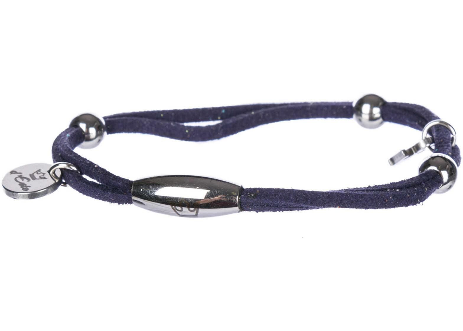 d'Este Bracelet Alcantara Blue