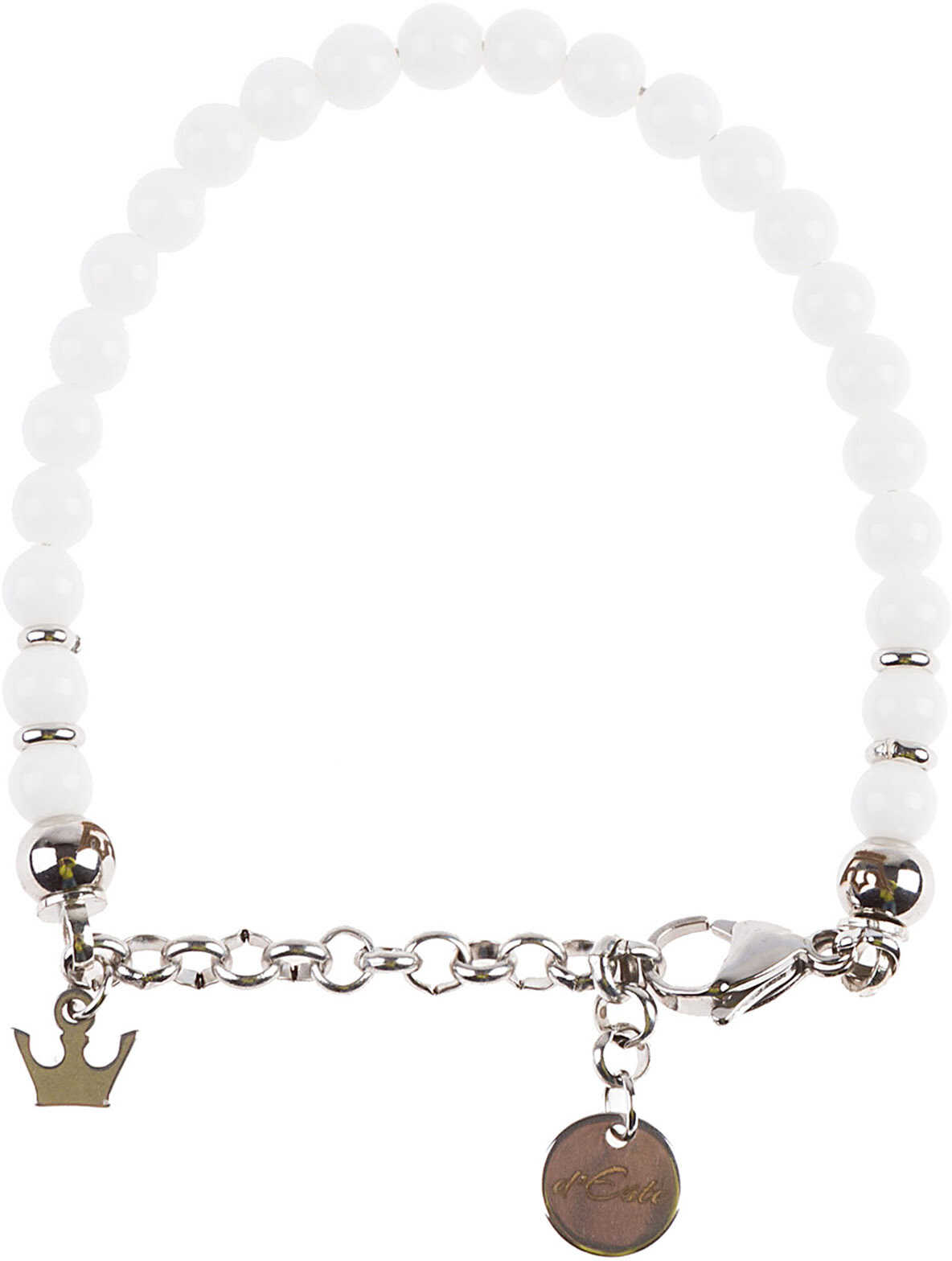 d'Este Bracelet Bianco White