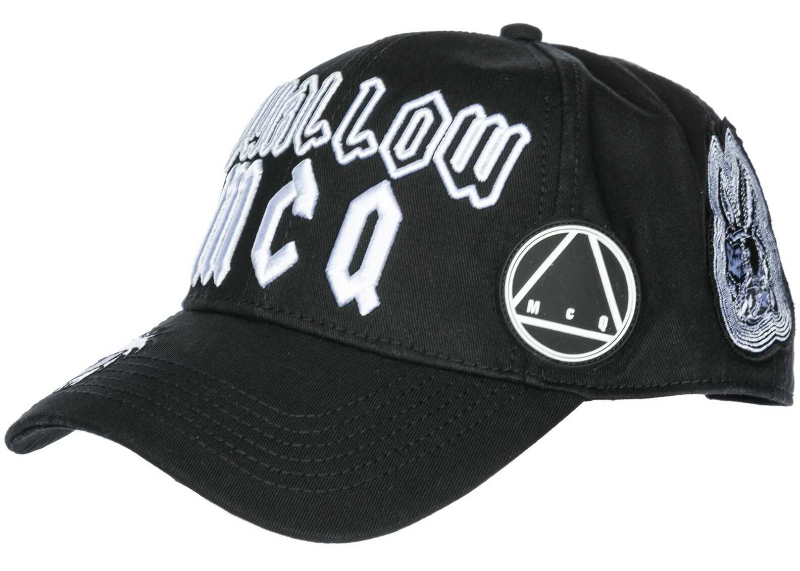 MCQ Alexander McQueen Cap Swallow Black