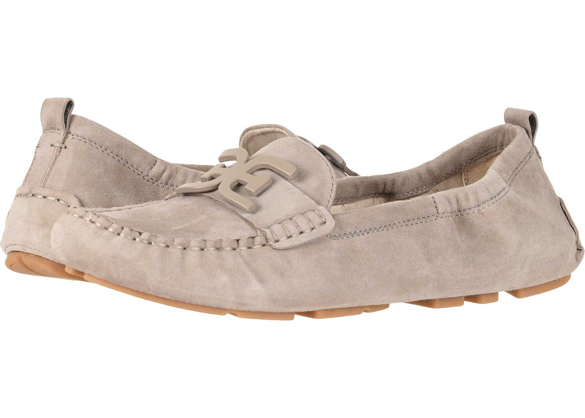 Sam Edelman Farrell Putty Suede Mulberry Pink Kid Suede Leather