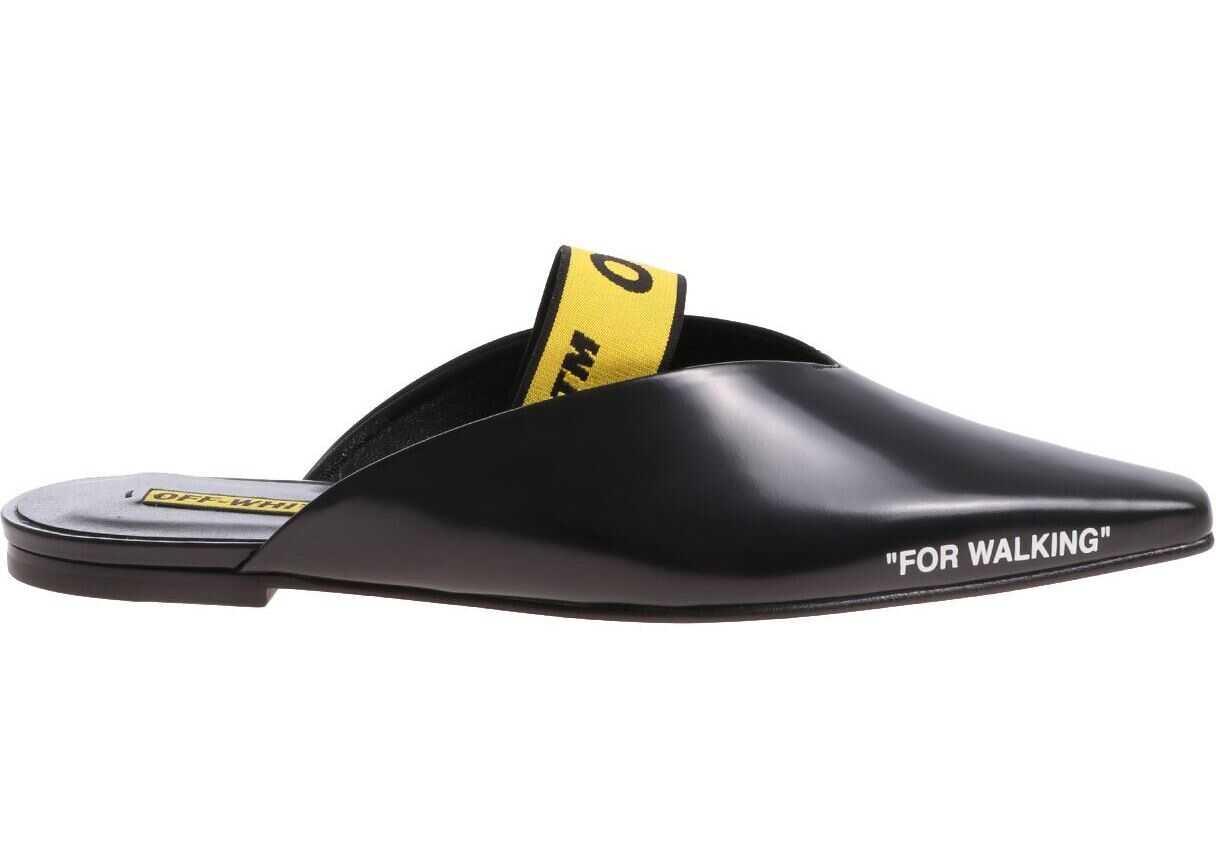 Off-White For Walking Mules OWIA120E18B280881088 Black imagine b-mall.ro