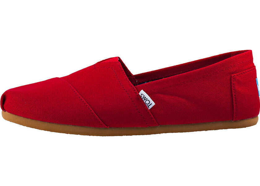 Tenisi & Adidasi Barbati TOMS Classic Slip On In Red