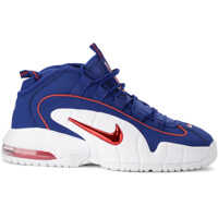 Tenisi & Adidasi Air Max Penny Red And Blue Leather Sneaker Barbati