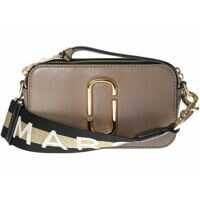 Genti de Mana Marc Jacobs Logo Strap Snapshot Small Camera Bag