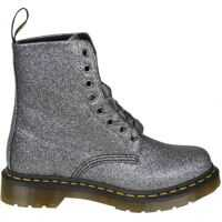 Ghete & Cizme Anthracite Leather 1460 Pascal Boots Femei