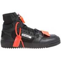 Tenisi & Adidasi Off-White Black Low 3.0 Sneakers With Orange Inserts