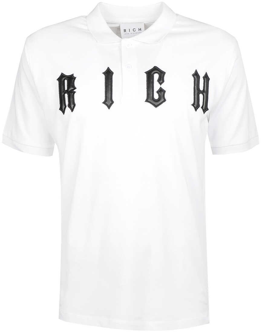 John Richmond Koszulka Polo Biały