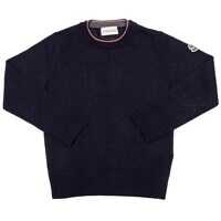 Pulovere Blue Virgin Wool Pullover Baieti