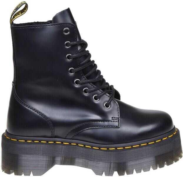 68377d4284 Incaltaminte Dr. Martens Black Jadon Ankle Boots Black Femei ...