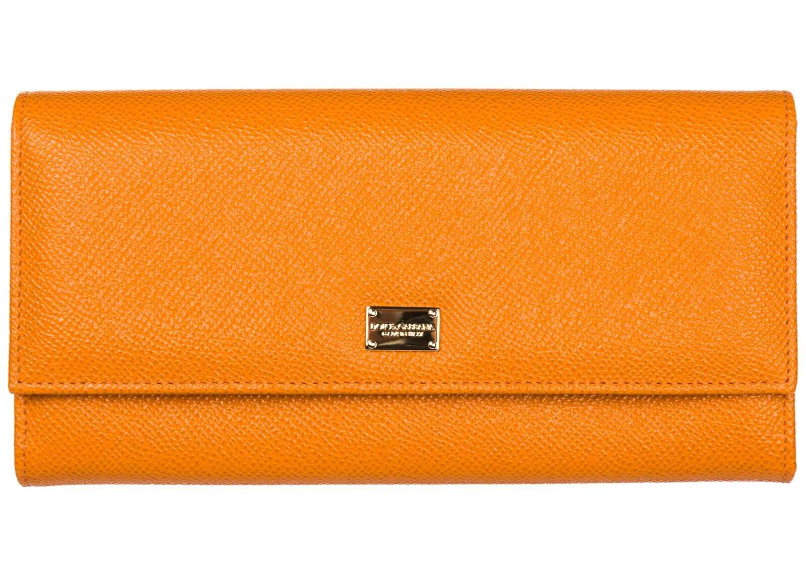 Dolce & Gabbana Purse Card Orange