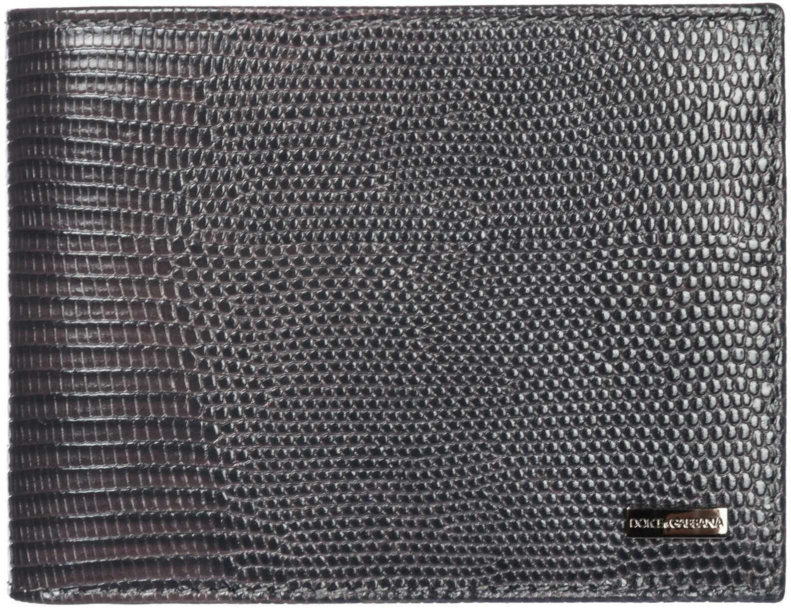 Dolce & Gabbana Card Bifold Grey