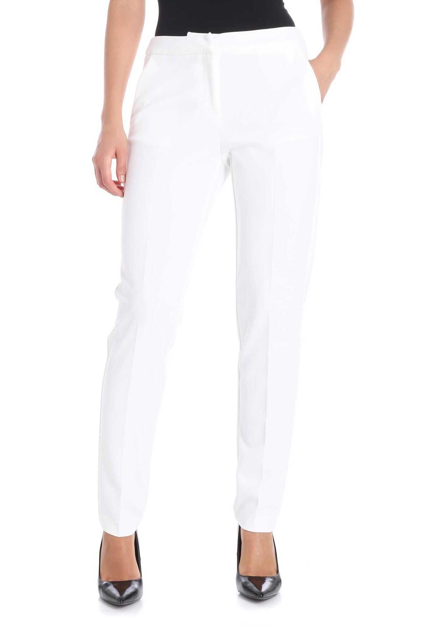 Blugirl White Tailored Trousers White