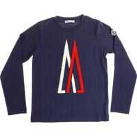 Tricouri Blue T-Shirt With Red And White Logo Baieti