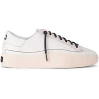 Tenisi & Adidasi Y-3 Tangutsu Lace White Leather And Suede Sneaker