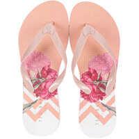 Slapi Beaulup Flip Flops In Pink Multicolour Femei