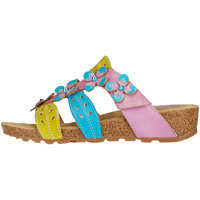 Sandale Bourges 80 Lilas Sandals In Pink Multicolour Femei