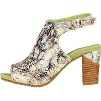 Sandale Bernie 20 Dore Sandals In Gold Green Femei
