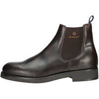 Ghete & Cizme Oscar Chelsea Boots In Dark Brown Barbati