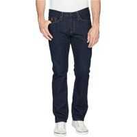 Blugi Slim Straight Five-Pocket Denim Jeans in Blue Barbati