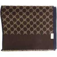 Esarfe Blue Wool And Silk Scarf Barbati