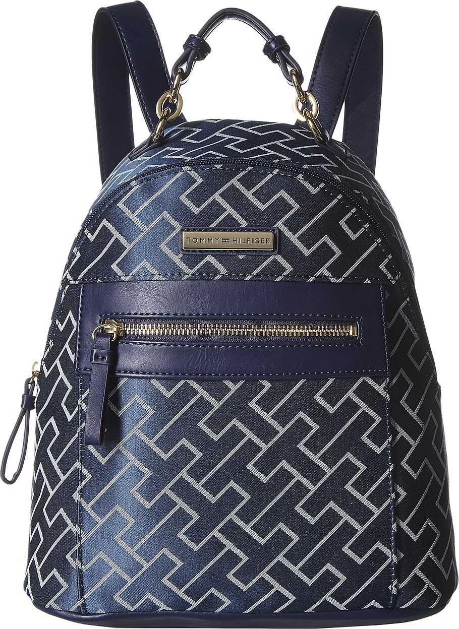 Tommy Hilfiger Claudia Dome Backpack Navy/White