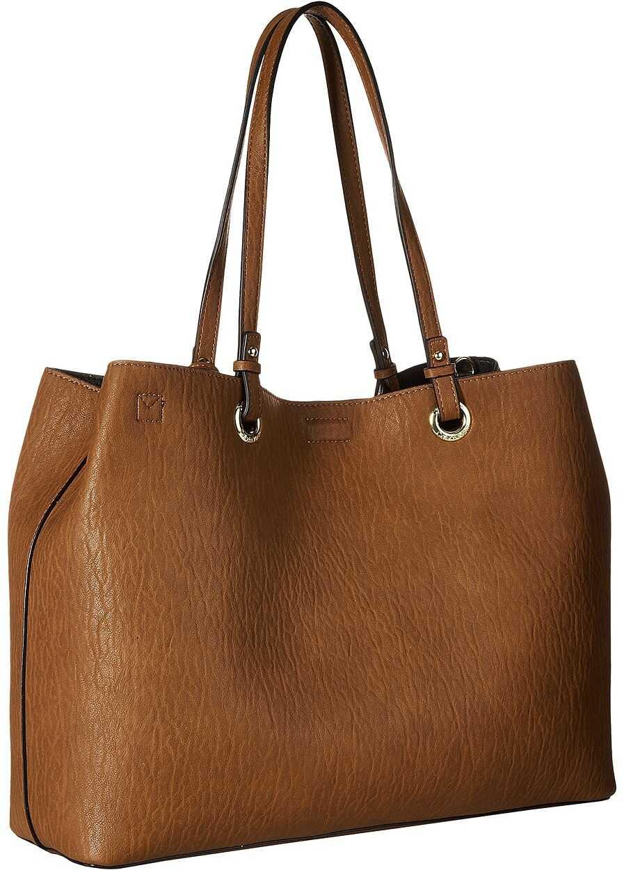 Calvin Klein Reversible East/West Novelty Tote Luggage/Black