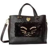 Genti de Mana Betsey Johnson Kitsch Tote with Pouch