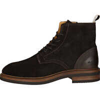 Ghete & Cizme Martin Boots In Dark Brown Barbati