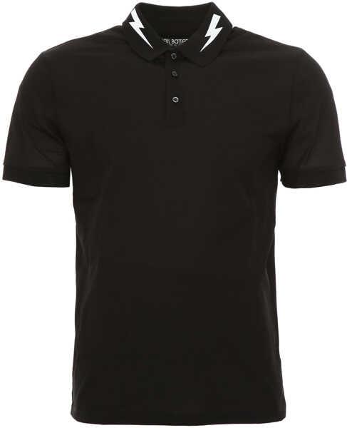 Tricouri Polo Barbati Neil Barrett Short-Sleeved Polo Shirt