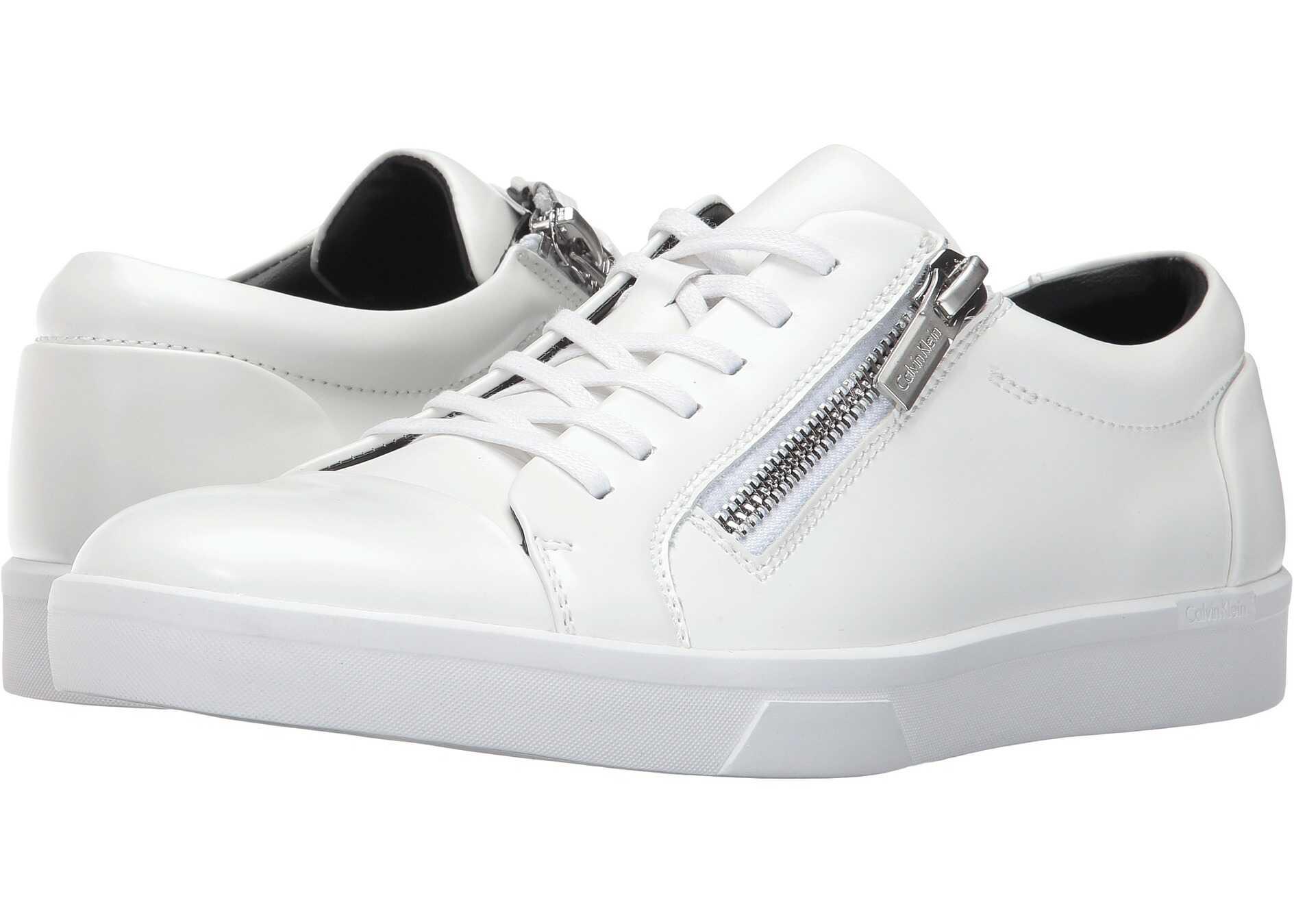 Calvin Klein Ibrahim White Box Leather