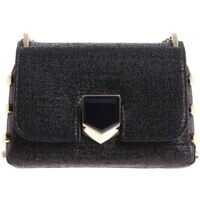 Genti de Mana Black Lockett Mini Shoulder Bag Femei