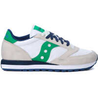 Tenisi & Adidasi Saucony Jazz Beige, White And Green Leather And Nylon Sneakers*