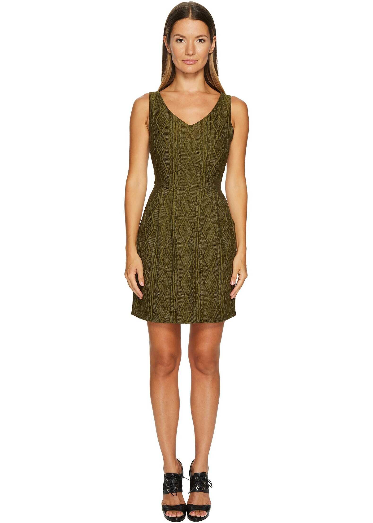 LOVE Moschino Sleeveless Knit Dress Green