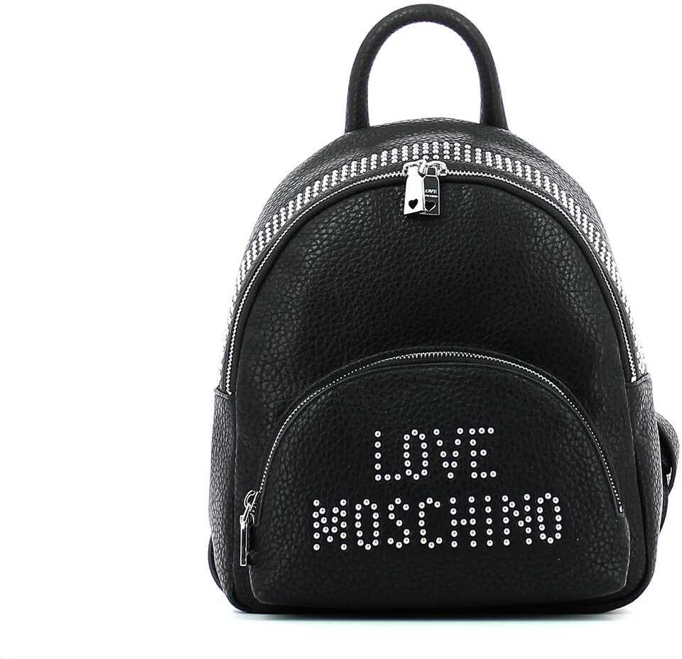 LOVE Moschino 6E231A4AE9 NERO/NIKEL