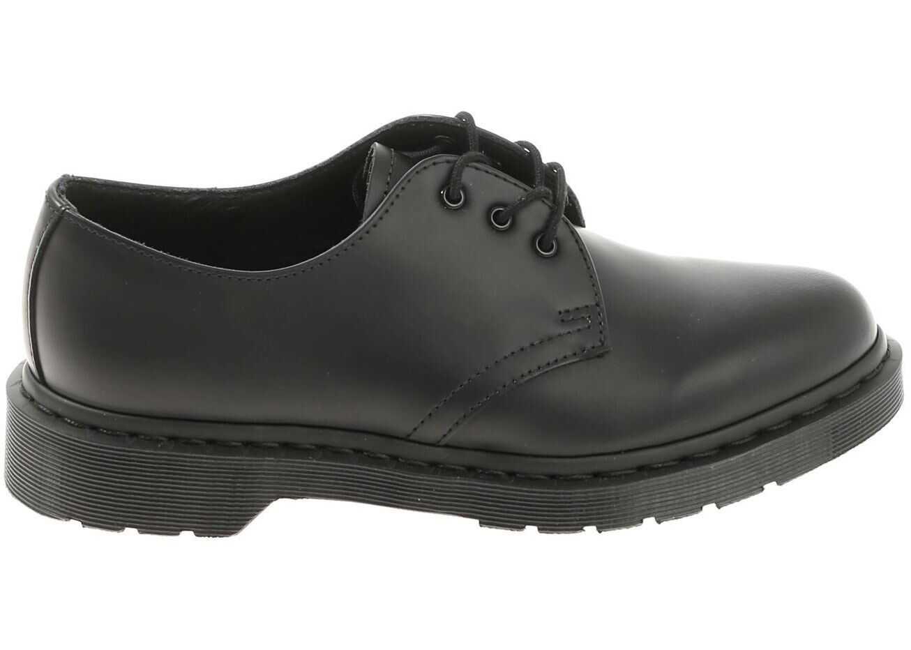 Dr. Martens Mono Derby 1461 Black Shoes Black