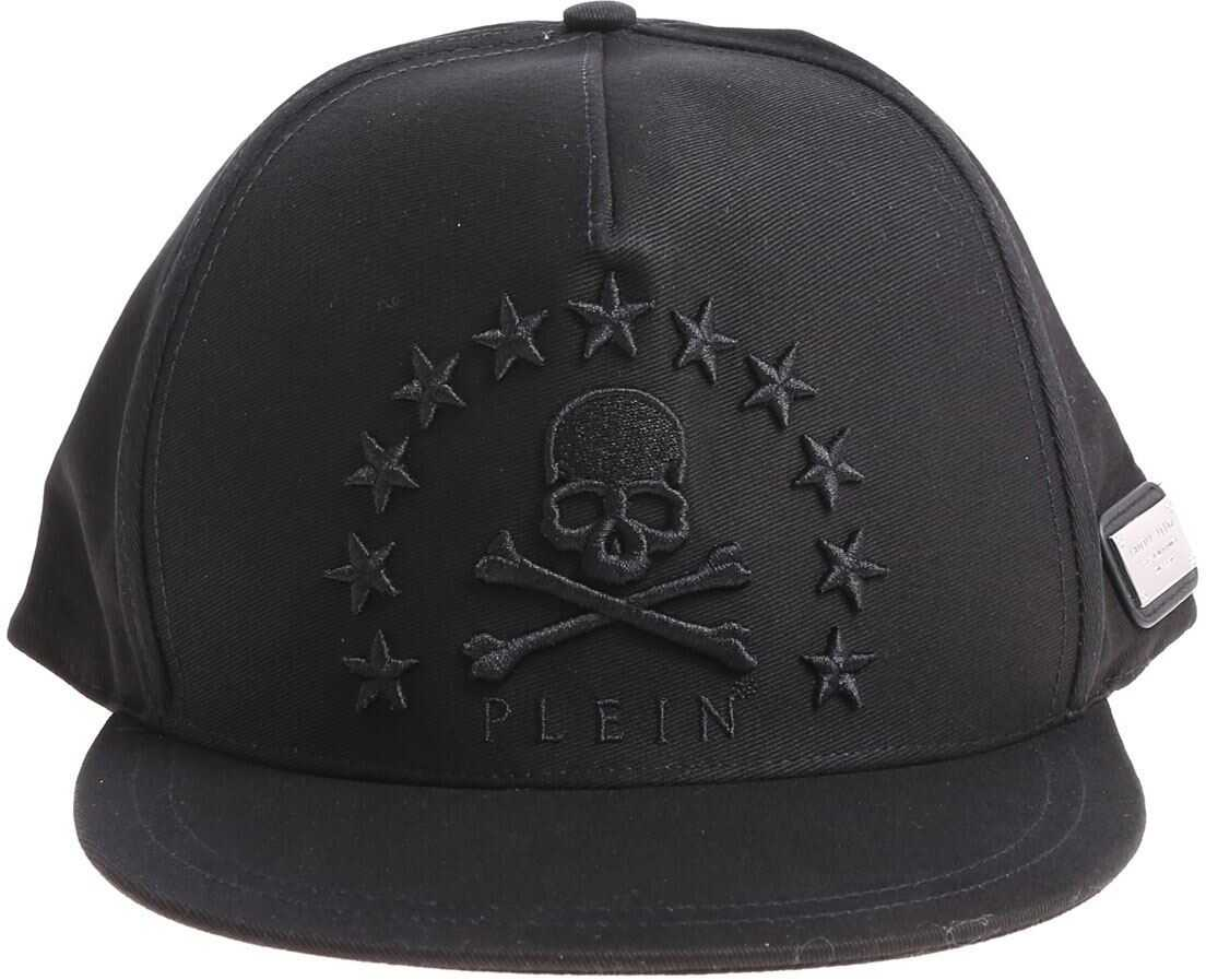 Philipp Plein Black Energy 78 Beanie Black