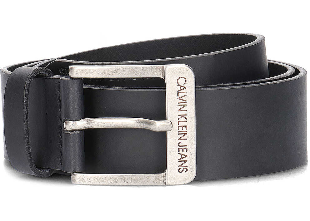 Calvin Klein Jeans 4 cm Belt Czarny
