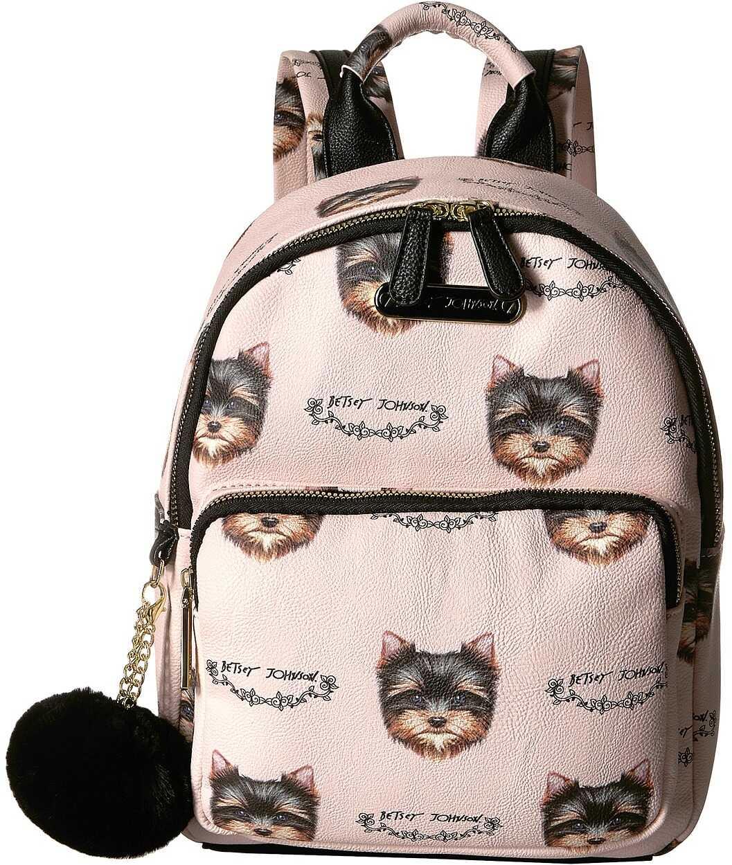 Betsey Johnson Medium Backpack Blush Multi