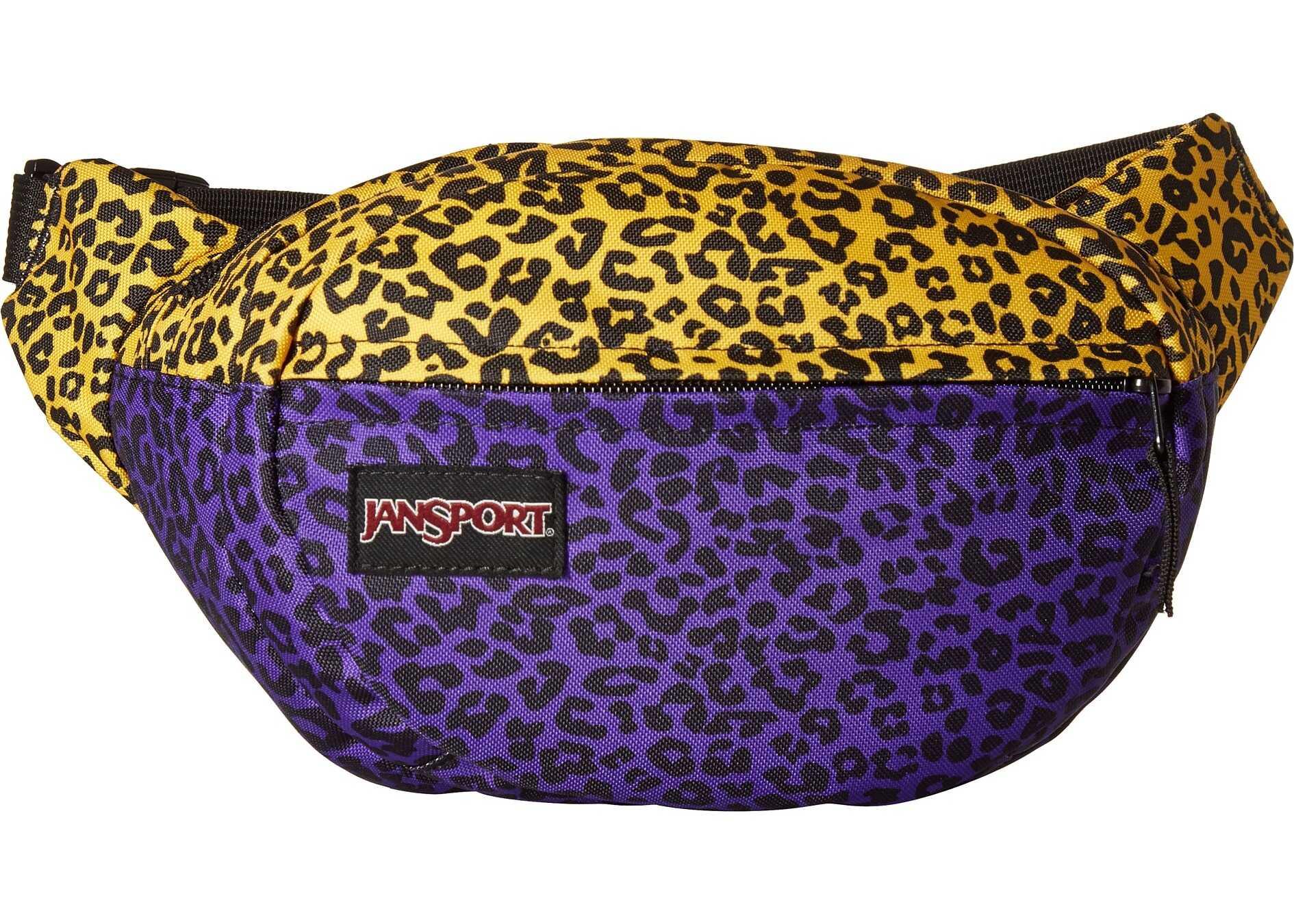 JanSport Fifth Avenue Purple Leopard Life