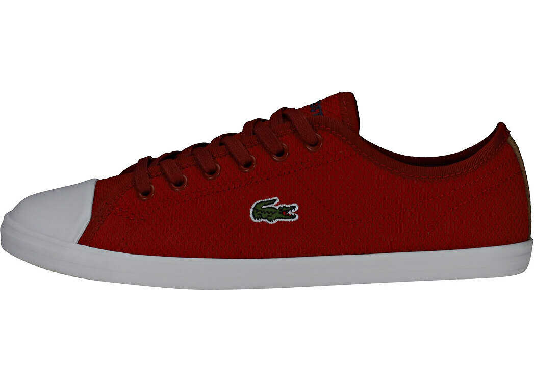 Lacoste Ziane Sneaker 318 2 Trainers In Red White Red