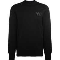 Bluze Y-3 Classic Sweater Black Roundneck Sweater