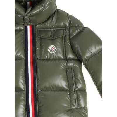6bae38707 Geci de Puf Moncler Kids aubert Padded Jacket Gray Baieti - Boutique ...