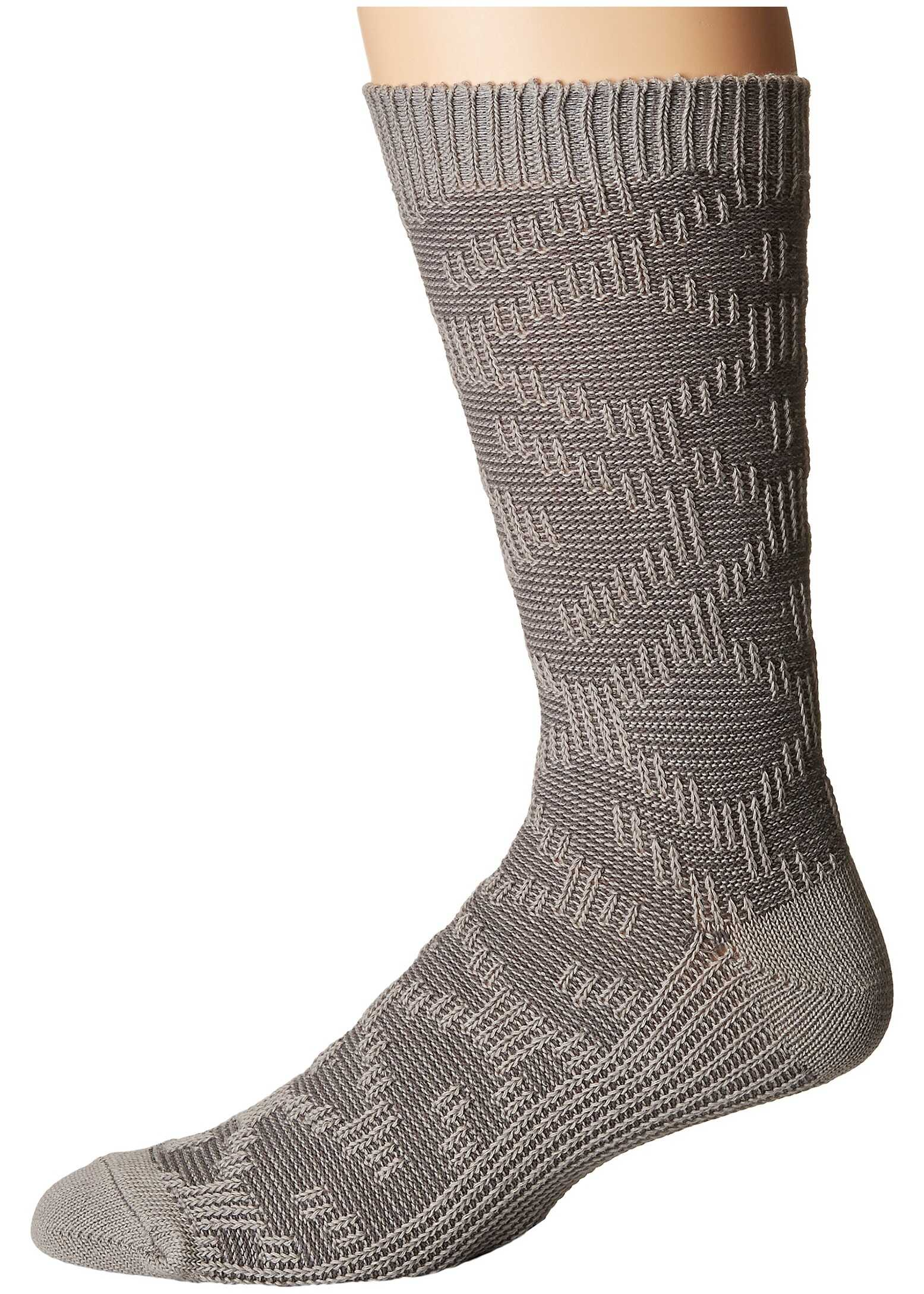 UGG Cotton Textured Crew Socks Seal