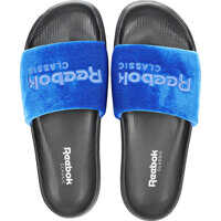 Slapi Reebok Classic Slide In Royal Blue Black