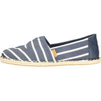 Espadrile Classic Riviera Stripe Slip On In Navy White Barbati