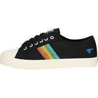 Tenisi & Adidasi Coaster Rainbow Glitter Trainers In Black Multicolour Femei