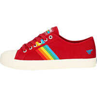 Tenisi & Adidasi Coaster Rainbow Trainers In Red Multicolour Femei