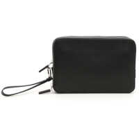 Genti de Laptop & Serviete Saffiano Zipped Pouch Barbati